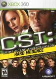 CSI: Hard Evidence (Xbox 360)